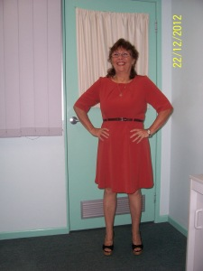 Susan now after losing almost 30kg