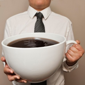 Nothing like a BIG cup of coffee to start your day: but is it really good for you?