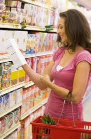 Reading labels when shopping is important for helping you to make the healthiest choices