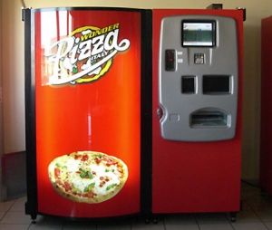 A pizza vending machine - really?