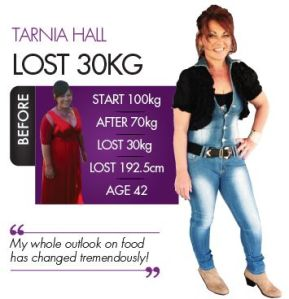 Tarnia looking amazing after losing 30kg