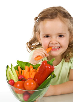 It's important for children to have a healthy relationship with food