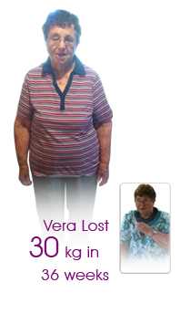 90 year old Vera from Tamworth is probably the oldest client we have ever had - what a champion!
