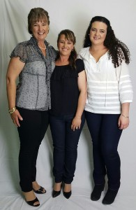 Narrabri's weight loss success stories have shed over 58kg (from l-r: Jenni, Natalie, Chloe)