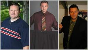 Ryan Benson won the first season of 'The Biggest Loser USA' when he lost 55kg - he has since regained 40kg